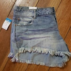 NWT Rue 21 Low Rise Shortie jean shorts